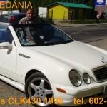 Do sprzedania Mercedes CLK430 AMG 1998r.