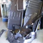 mercedes 115 podłoga fartuchy reperaturki