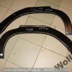 Mercedes 114-115 reparaturka blotnika tylna