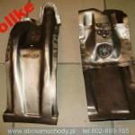Mercedes 114-115 fartuch wzmocnienie amortyzatora