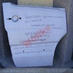 mercedes sprinter crafter drzwi przednie drzwi poszycie