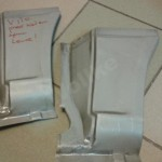 Mercedes Vito, Viano, W639 reperaturka błotnika tylna 150zł