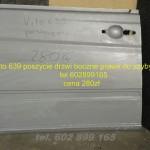 Mercedes Vito 639 drzwi boczne do szyby 180zł
